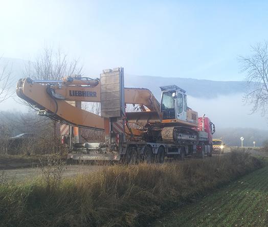 SARL Viret Spécialistes en transport de masses indivisibles à Albens Entrelacs en Savoie 73