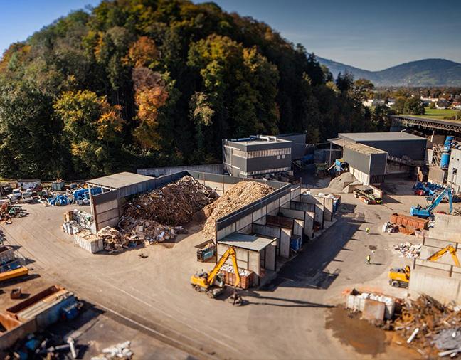 Plateforme de recyclage des déchets de chantiers de démolition et voirie en Savoie